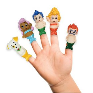 Nickelodeon Bubble Guppies 5-Pack Bath Finger Puppets