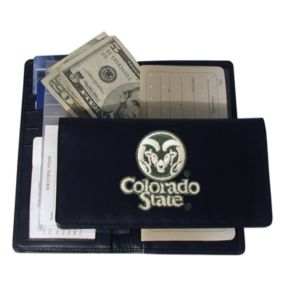 Colorado State University Rams Checkbook Wallet