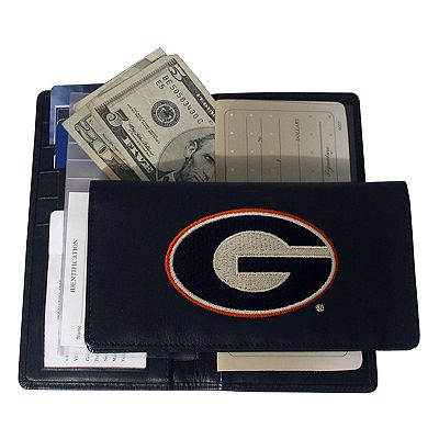 University of Georgia Bulldogs Checkbook Wallet