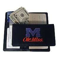 University of Mississippi Rebels Checkbook Wallet