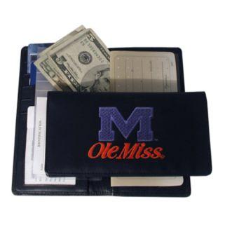 University of Mississippi Rebels Checkbook Wallet