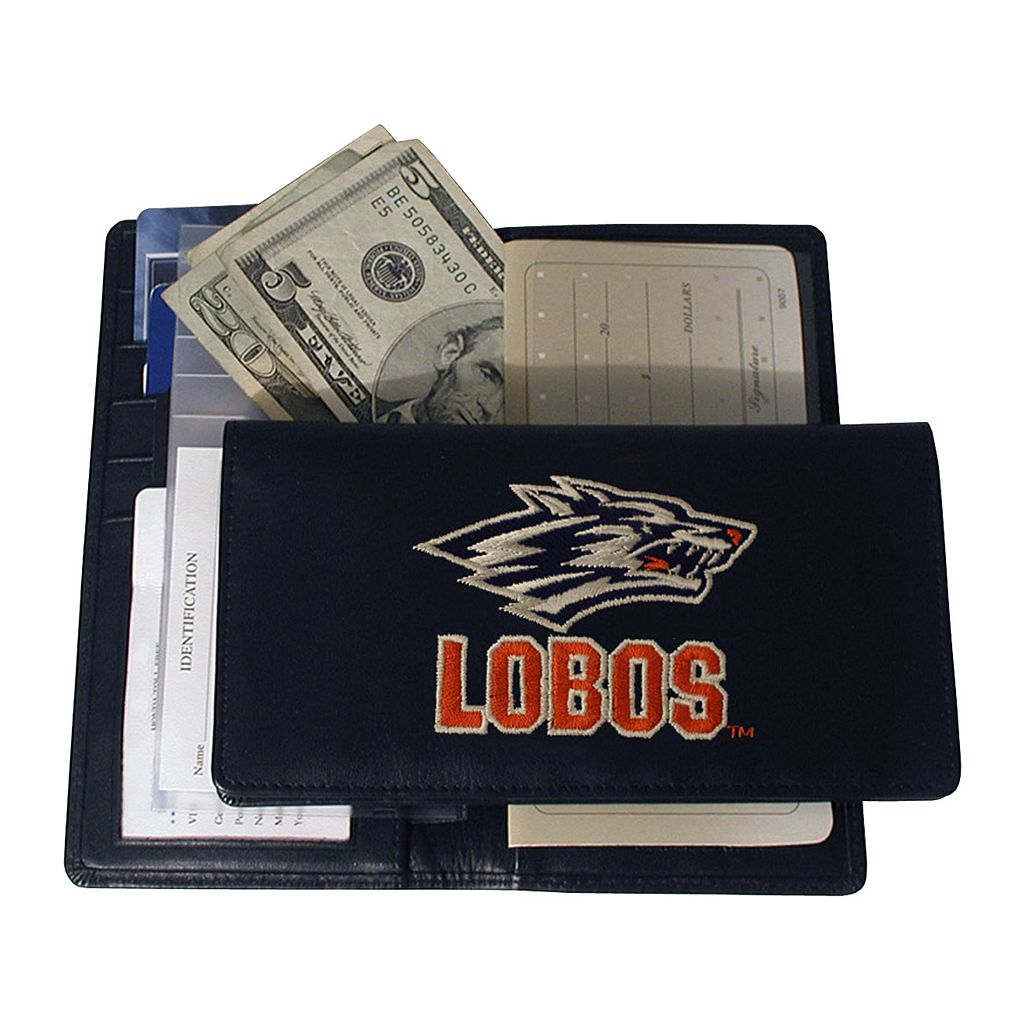 University of New Mexico Lobos Checkbook Wallet