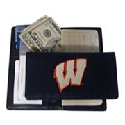 University of Wisconsin Badgers Checkbook Wallet