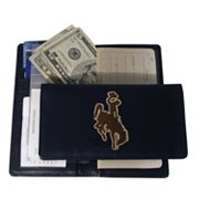 University of Wyoming Cowboys Checkbook Wallet
