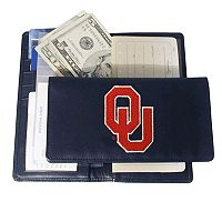 University ofOklahoma Sooners Checkbook Wallet