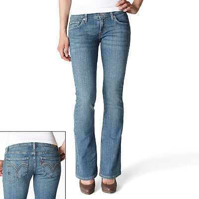 Levi's 524 Too Superlow Bootcut Jeans - Juniors