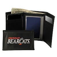 University of Cincinnati Bearcats Trifold Leather Wallet