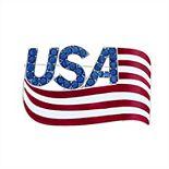 Napier USA Flag Pin