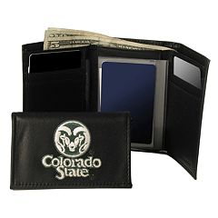 Colorado State University Rams Trifold Leather Wallet
