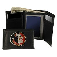 Florida State University Seminoles Trifold Leather Wallet