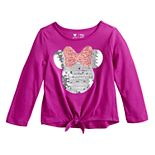 Disney Toddler Girl Tie Front Graphic Tee by Jumping Beans®