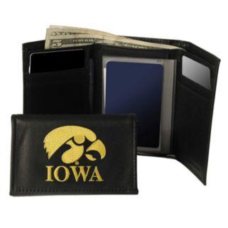 University of Iowa Hawkeyes Trifold Leather Wallet