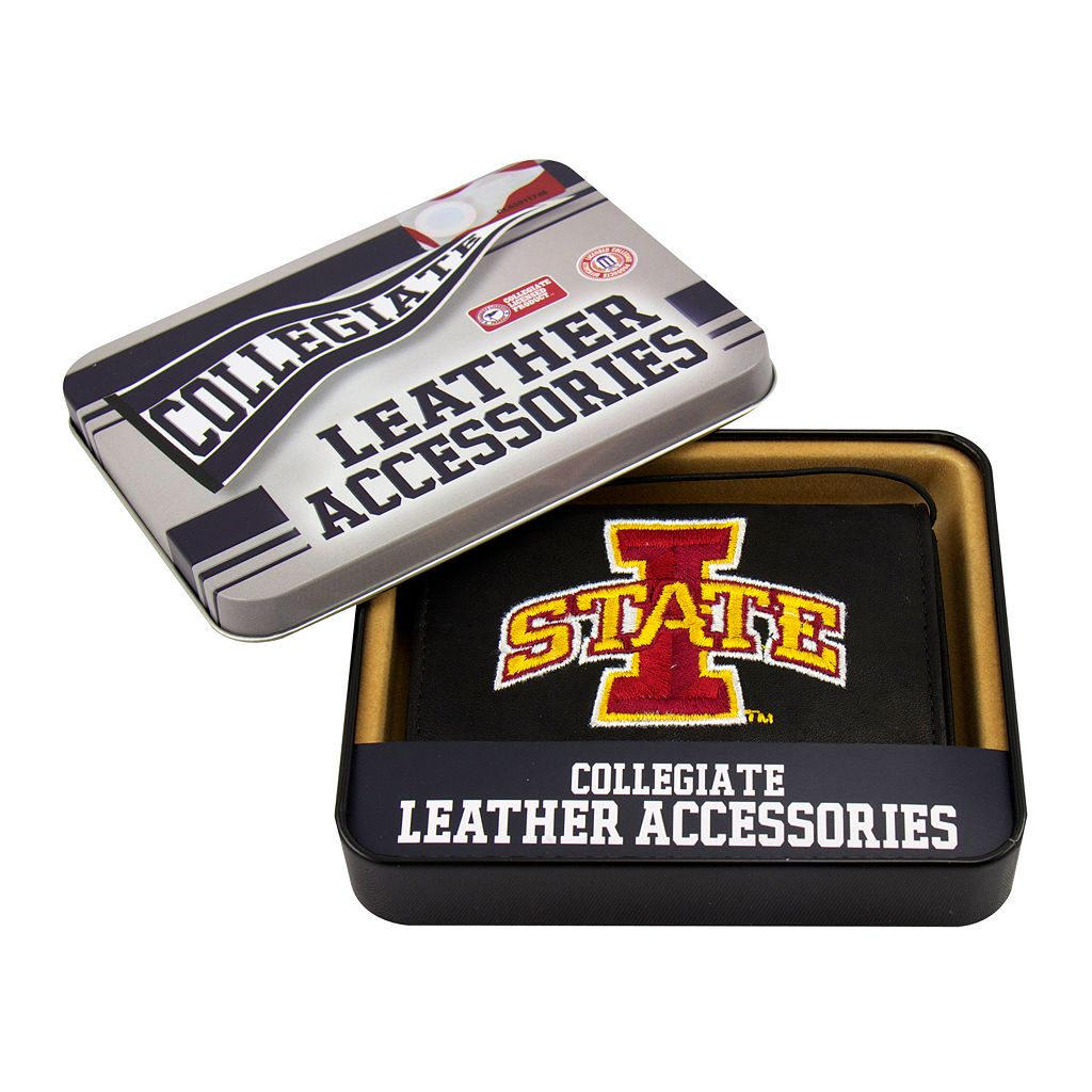Iowa State University Cyclones Trifold Leather Wallet
