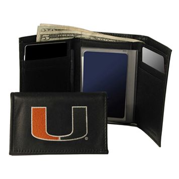 University of Miami Hurricanes Trifold Wallet