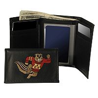 University of Minnesota Golden Gophers Trifold Leather Wallet