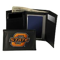 Oklahoma State University Cowboys Trifold Leather Wallet