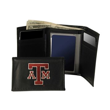 Texas A&M University Aggies Trifold Leather Wallet