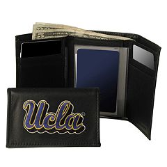 UCLA Bruins Trifold Leather Wallet