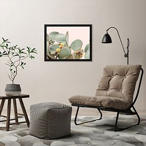 Americanflat Blooming Cactus Wall Art by Sisi and Seb