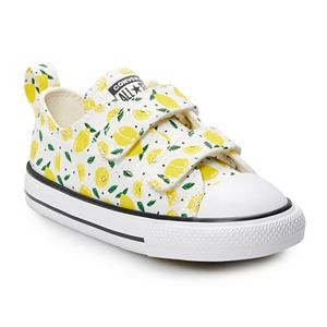 Toddler Girls' Converse Chuck Taylor All Star Lemon 2V Sneakers