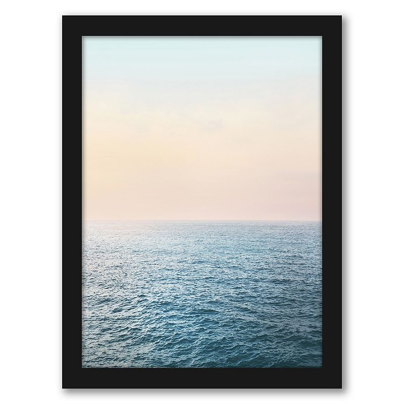 Americanflat Peaceful Framed Wall Art, 19X25