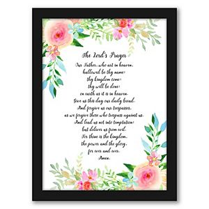Americanflat The Lords Prayer Wall Art by Kate Shephard