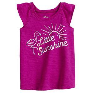 """Baby Girl Jumping Beans® """"Little Sunshine"""" Ruffled Tee"""