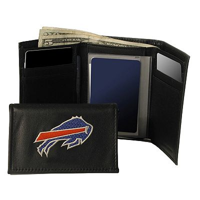 Buffalo Bills Trifold Leather Wallet