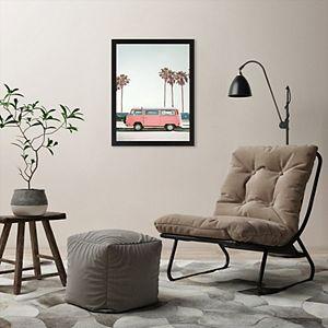 Americanflat Retro Van Framed Wall Art