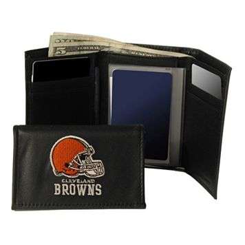 Cleveland Browns Trifold Leather Wallet