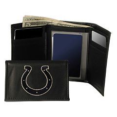 Indianapolis Colts Trifold Leather Wallet