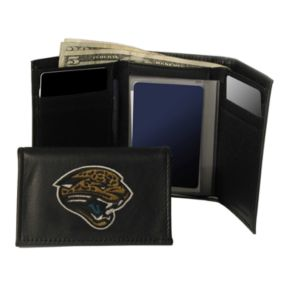Jacksonville Jaguars Trifold Leather Wallet