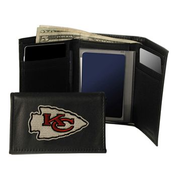 Kansas City Chiefs Trifold Leather Wallet