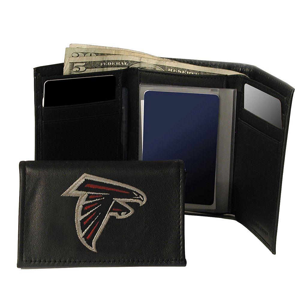 Atlanta Falcons Trifold Leather Wallet