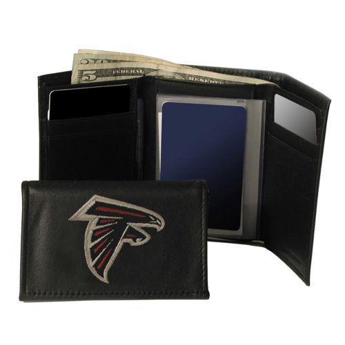 Atlanta Falcons Trifold Leather Wallet