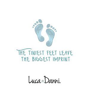 Luca + Danni Footprint Bangle Bracelet