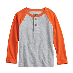 Toddler Boy Jumping Beans® Long-Sleeve Raglan Henley