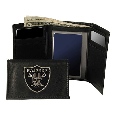 Oakland Raiders Trifold Wallet