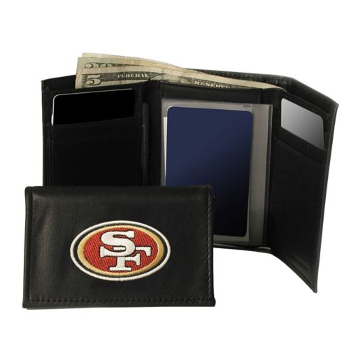 San Francisco 49ers Trifold Leather Wallet