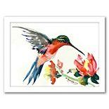 Americanflat Hummingbird Wall Art