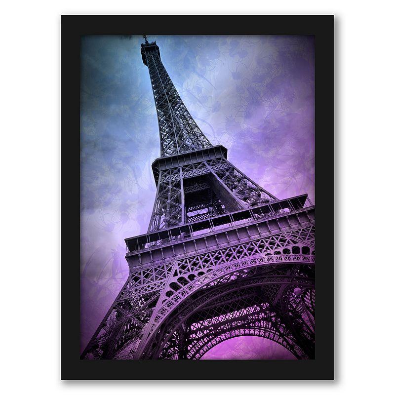Americanflat Paris Eiffel Tower Wall Art, 19X25