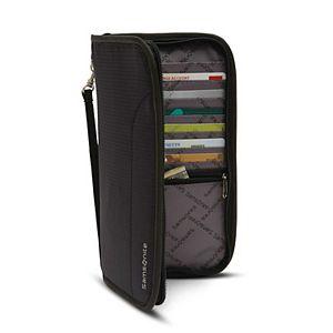 Samsonite RFID Zip Travel Wallet