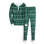 Girls 4-16 LC Lauren Conrad Jammies For Your Families® Fairisle Top & Bottoms Pajama Set