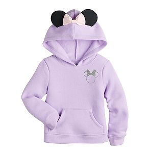 Disney's Minnie Mouse Toddler Girl Fleece Kanga Pullover Hoodie by Jumping Beans®