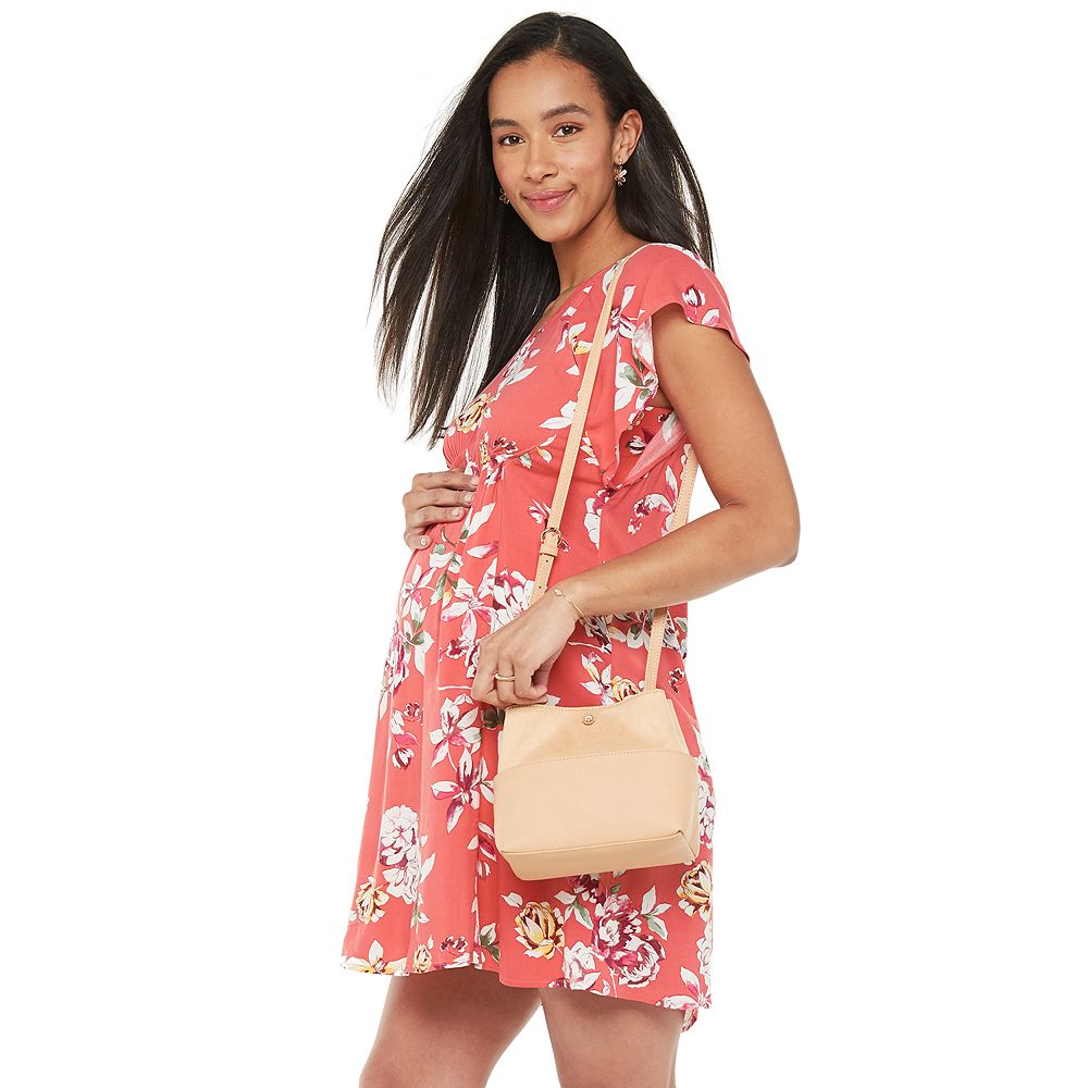 Maternity a:glow™ Short Sleeve Dress