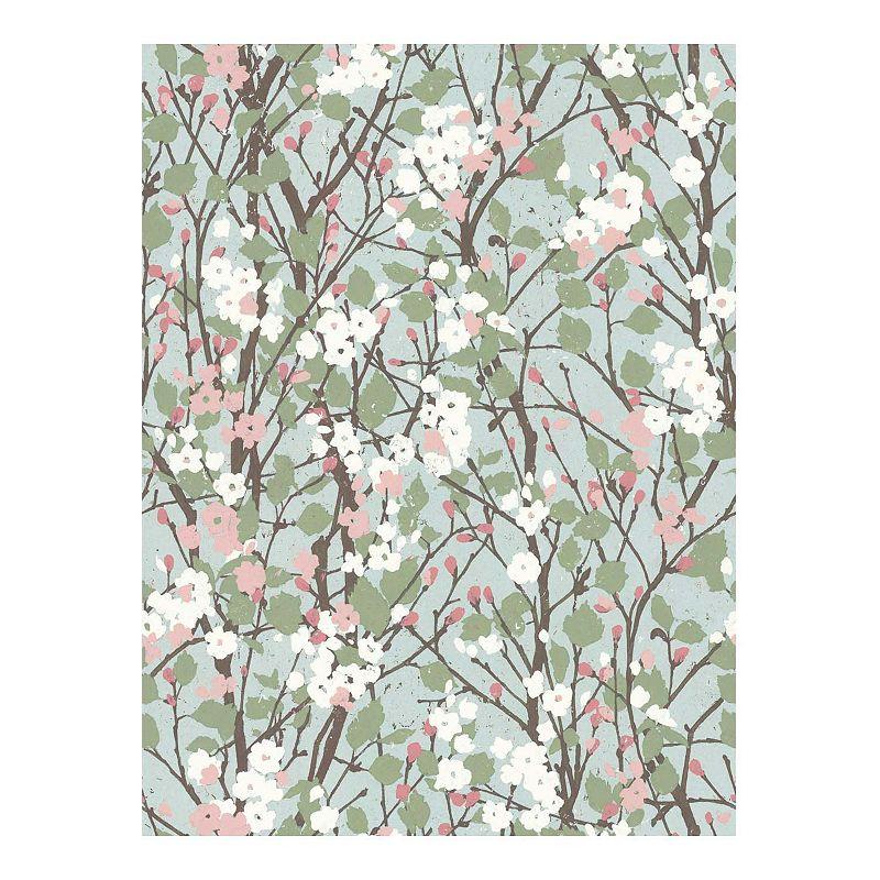 RoomMates Willow Branch Peel & Stick Wallpaper. Multicolor