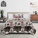 Great Bay Home Wilder Lodge Quilt and Sham Set