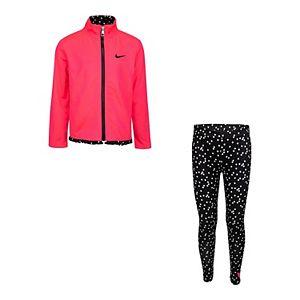 Girls 4-6x Nike Full-Zip Jacket & Leggings Set