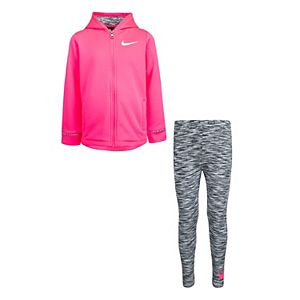 Girls 4-6x Nike Therma Fleece Jacket & Leggings Set