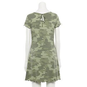 Juniors' SO® Knot-Back T-Shirt Dress